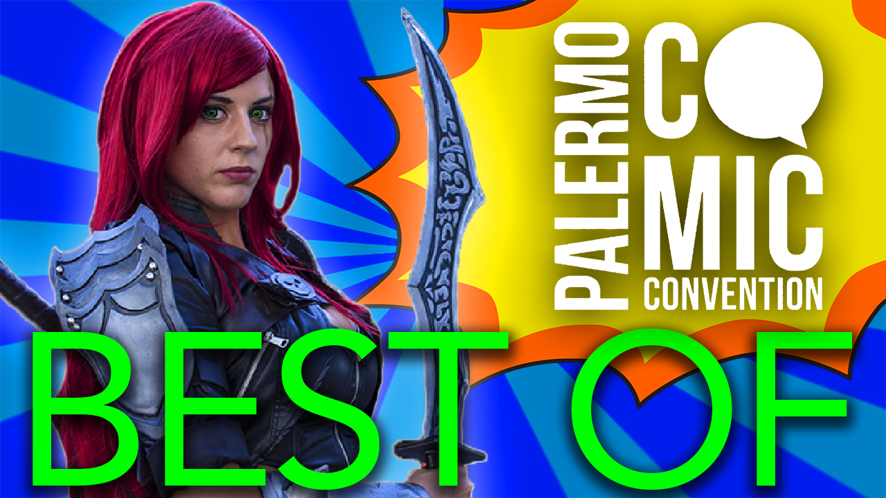 Il meglio di Palermo Comic Convention 2016 [VIDEO]